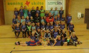 44 glade børn til årets Fodboldskole