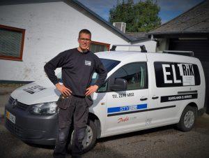 J. H. - Justesen & søn bliver til El-Trik