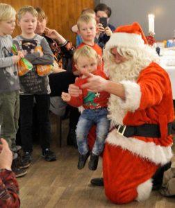 Julemanden til Juletræsfest på Allingåbro Hotel