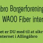 Allingåbro Borgerforening anbefaler Fiber Internet.