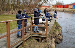 Endnu en vellykket fiskekonkurrence i Lunden