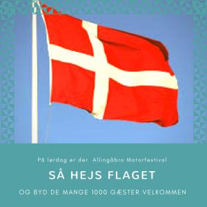 Ny flagdag i Allingåbro