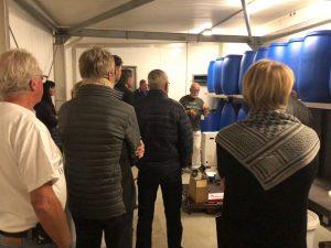 Erhvervsmedlemmer besøger populært bryghus