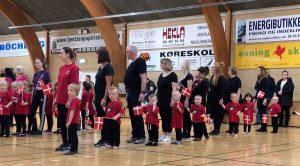 Gymnastikopvisning i Allingåbro Hallen